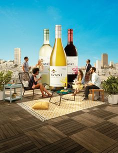Just found a reason to get together with friends tonight. #KJAVANT The right wine for right now. - kj.com/avant