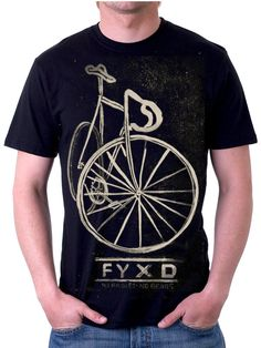 Fixie tee from Cycology. #fixie, #cycling tshirts. www.cycologygear.com
