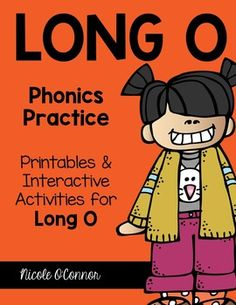 A complete pack of Long O activities including both paper/pencil and interactive games! I designed these for my first graders but they could be used with more advanced Kindergartners as well as second or third grade students.Word families include: one, ote, ose, ole, oat, ow, and more!- 17 printable worksheets: word matching, writing long o words, ABC order, picture sorts, etc.- 30 Long O Puzzles- 5 Connect 4 Game Boards- Long O Memory Game- Matching Pictures to the Long O Word Family- Long…
