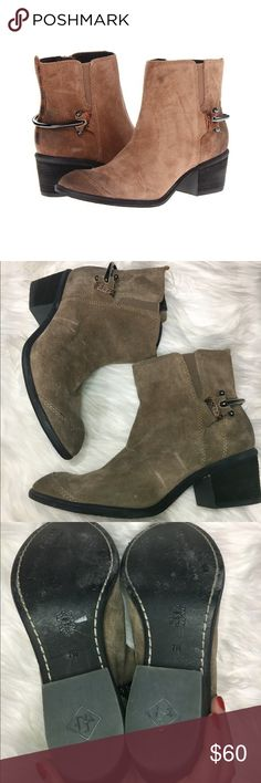 """Donald J. Pilner Digg western boots Donald J Pilner Western Wear Collection Digg Suede bootie in size 7m. some distresssing/wear to suede. please see photos. 2"""" heel. Donald J. Pliner Shoes Ankle Boots & Booties"""