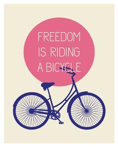 bicycle print.