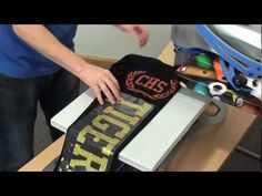 Heat pressing designs that are larger than your heat press. stahls.com