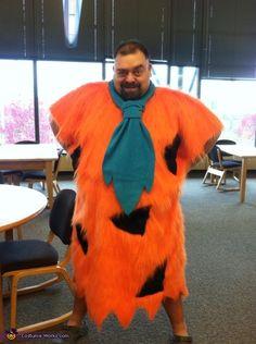 Fred Flinstone Homemade Costume - 2013 Halloween Costume Contest