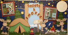 Snores and Smores - Scrapbook.com