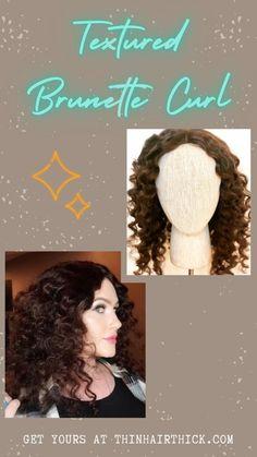 Natural Curls, Natural Hair Care, Natural Hair Styles, Crown Hair Extensions, Human Hair Extensions, Hair Breakage, Thin Hair, Human Hair Wigs, Curly