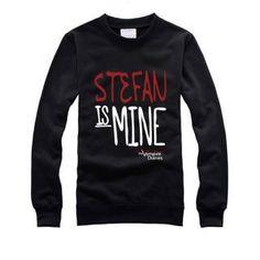Stefan is mine sweatshirt The Vampire Diaries sweatshirt crew neck XXL
