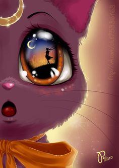 Luna Cat by Pillara.deviantart.com on @deviantART