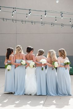 Discount wedding gowns sold off-the-rack in Phoenix, Denver, Las Vegas and Dallas. No cheap wedding gowns here! Only brand new designer bridal gowns. Blue Bridesmaids, Blue Bridesmaid Dresses, Bridal Gowns, Wedding Gowns, Something Blue Bridal, Dream Dress, Dreaming Of You, Las Vegas, Meet