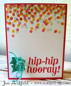 Stamped Silly: Creation Station: Confetti Themed!