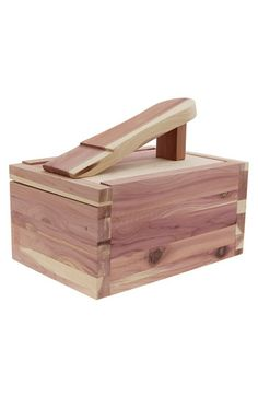 Synovia Cedar Shoe Valet available at #Nordstrom - Extend your style by taking care of leather boots.