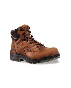 "91eef457124c Carhartt Men s 6"" Brown Work Boot – Round Non-Safety Toe - CMW6174 Profile"