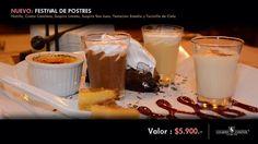 Tienes ganas de algo dulce, pero no sabes que comer? Te invitamos a probar nuestro nuevo Festival de Postres #yoquieromiestadio #saborespañol #estadioespañol | por Estadio Español
