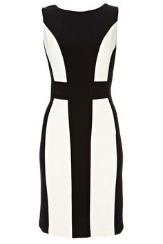 Black And Ivory Bodycon Dress - View All Dresses - Dresses - Womens Fashion - Wallis