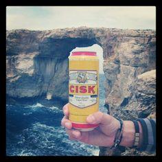 Maltese beer, cisk! │ #VisitMalta visitmalta.com