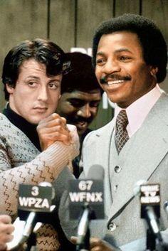 Rocky Balboa and Apollo Creed Rocky Balboa 2006, Rocky 1976, Rocky Series, Rocky Film, Tv Series, Sylvester Stallone, Kick Boxing, Stallone Rocky, Apollo Creed