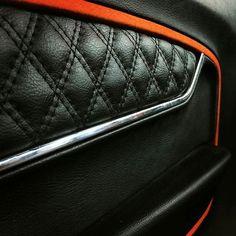 70 chevelle fesler door panels custom Shaun Hewitt ss shaun  orange silver black