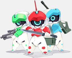 小型ロボット三兄弟 | ロボットノート