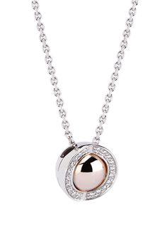 Joy de la Luz | Necklace cz silver/rosé  €100,00