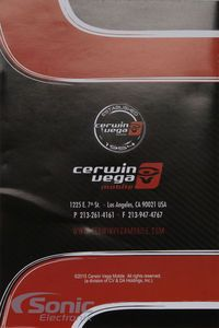 "Cerwin Vega VPAS10 550W 10"" Low Profile Amplified Subwoofer Powered Subwoofer, Profile, User Profile"