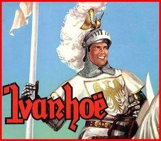 Roger Moore Ivanhoe. Jeugdherinneringen uit de beginjaren '60. Ivanhoeeeee! Klep Toeeeee!.