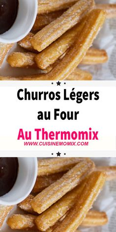 Thermomix Oven Light Churros Légers au Four au Thermomix A homemade recipe that you love to taste with your children during your fairground strolls? Easy and fast with your robot, you will love preparing your Light Oven churros with Thermomix. Thermomix Desserts, Healthy Dessert Recipes, Mexican Food Recipes, Baking Recipes, Healthy French Toast, French Toast Bake, French Toast Casserole, Avocado Dessert, Healthy Cream Cheese