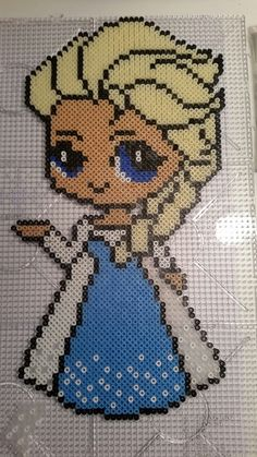 Elsa from the movie Frozen, made by me