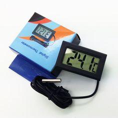 1 St LCD Digitale Thermometer voor Vriezer Temperatuur-50 ~ 110 graden Koelkast Koelkast Thermometer Gratis Verzending