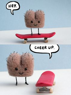 Cheer up, skate butt!