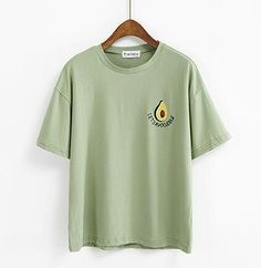 Embroidery Avocado T shirt gift tees unisex adult cool tee shirts Cool Tee Shirts, Cute Tshirts, Cool Tees, Women's Shirts, Avocado T Shirt, Cute Avocado, Cute Casual Outfits, Custom Clothes, Aesthetic Clothes