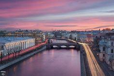 Элегантный вечерний Петербург