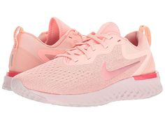 0d1a59932aebc Nike Odyssey React (Oracle Pink Pink Tint Rust Pink) Women s Running Shoes