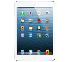 BEST TABLET: Apple Verizon iPad mini - Wi-Fi + Cellular (White) // Small and slender but still as powerfull as its big brother. The Mini moves the Tablet into a truly personal category and doesnt go stingy on any of the bells and whistles. Ipad Mini 2, Ipad 4, Ipad Case, Ipad Wifi, Touch Tablet, Fire Tablet, Tablet Computer, Shopping, Apps