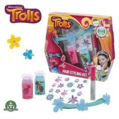 Giochi Preziosi Trolls - Coffret Cheveux