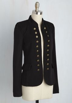 I Glam Hardly Believe It Jacket in Black. Need a pinch? #black #modcloth