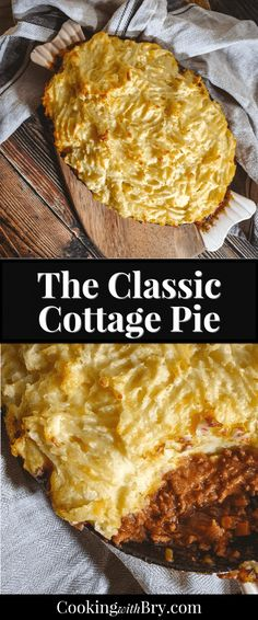 Cottage Pie is a classic British dinner with amazing traditional and warming flavours. It's an easy way to add hearty flavours to your meal! The Classic Cottage Pie Recipe Pie Recipes, Fall Recipes, Cooking Recipes, Healthy Recipes, Delicious Recipes, Chicken Recipes, Cottage Pie Recipe Beef, Vegetable Stew, Winter Food