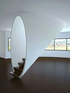 Beautiful and artily staircase