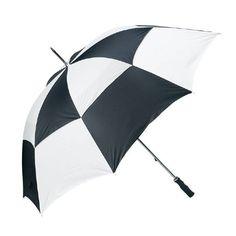 B & W umbrella.