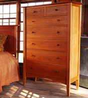 handmade natural cherry bedroom furniture sets real solid wood exclusive american made - Solid Wood Bedroom Furniture