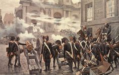 the Paris Mob get a Whiff of Grapeshot from Napoleon