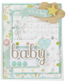 NEW Simple Stories Hello Baby - Scrapbook.com - Simple Stories Hello Baby collection