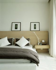 Master bedroom wall concept
