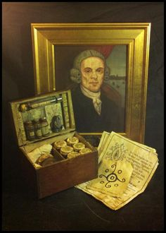 a collection of items belonging to Captain Obed Marsh from The Shadow Over Innsmouth.
