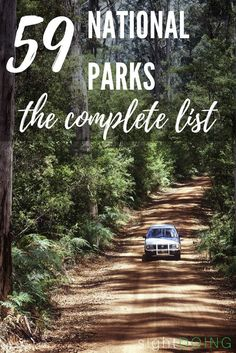 If you're traveling in the USA, make an effort to see everything on this list of US national parks! This travel guide will inspire you for adventure, road trips, hiking, and 59 beautiful destinations in the United States.