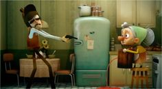 A funny short about a defective detective. Great for preterite