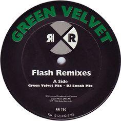 Green Velvet – Flash (Remixes) (Relief) 1995 // House/Techno