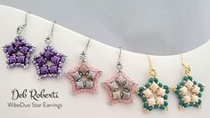 Deb Roberti's WibeDuo Star Earrings