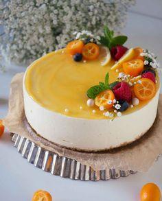 No Bake Lemon Cheesecake, Cheesecake Recipes, Cake Decorating Videos, Cake Photography, Fancy Desserts, Breakfast Cake, Saveur, No Bake Cake, Eat Cake