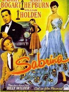 Sabrina, 1954 - one of my favorite Audrey Hepburn movie