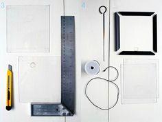Plexiglas enmarcar DIY