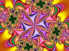 fractal art So neat! Reminds me of those kaleidoscope